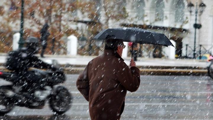 Κρύο και χιόνια φέρνει η «Ζηνοβία»