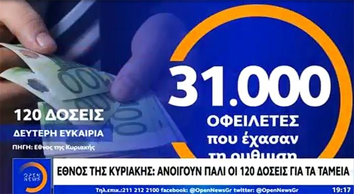 «Δεύτερη ευκαιρία» στις 120 δόσεις για οφειλές στα Ταμεία – Δηλώσεις Γ. Χατζηθεοδοσίου & Ν. Κογιουμτσή στο OPEN