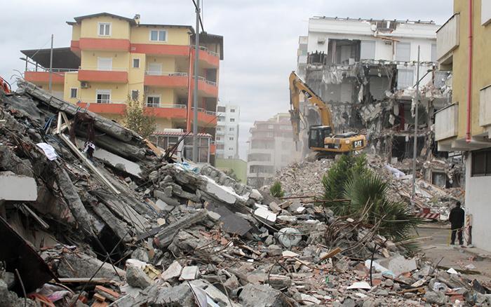 Το Ε.Ε.Α. δίπλα στους σεισμόπληκτους της Αλβανίας