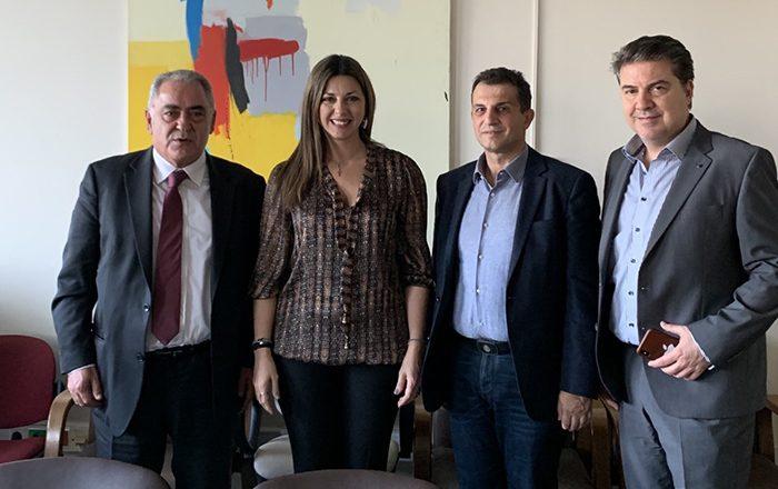 Συνάντηση Ε.Ε.Α. με την Υφυπουργό Παιδείας Σοφία Ζαχαράκη