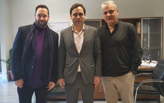 Επιτροπή ΟΤΑ Ε.Ε.Α.: Συνάντηση με τον Δήμαρχο Χαΐδαρίου