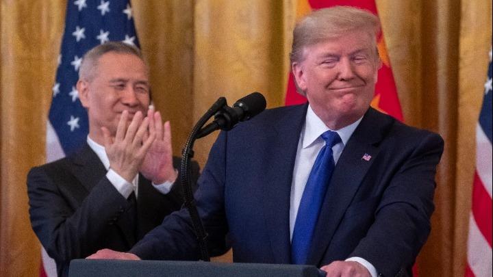 Εμπορική συμφωνία ΗΠΑ-Κίνας