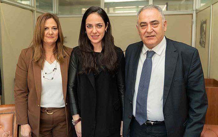 Συνάντηση Ε.Ε.Α. με την Υφυπουργό Εργασίας και Κοινωνικών Υποθέσεων Δόμνα Μιχαηλίδου