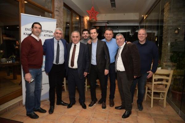 Λαμπρή εκδήλωση της ΕΕΕΣΑ – Ο Γ. Χατζηθεοδοσίου για τον σημαντικό ρόλο της Ένωσης στο χώρο της εστίασης