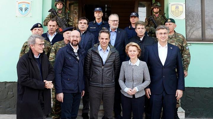 Ευρωπαίοι αξιωματούχοι: Τα ελληνικά σύνορα είναι και σύνορα της Ευρωπαϊκής Ένωσης