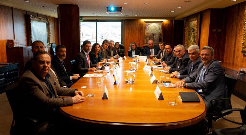 Ξεκινούν συνομιλίες για κοινή δράση του Ε.Ε.Α. με το Επιμελητήριο Βαρκελώνης
