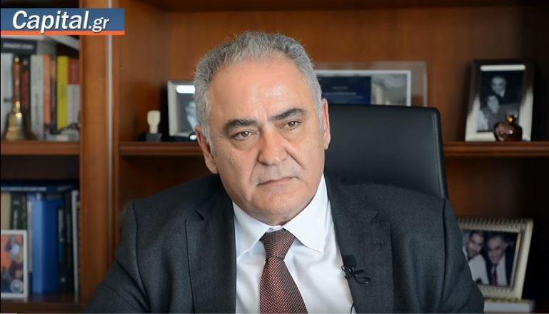 Γ. Χατζηθεοδοσίου στο capitaltv: Απαιτείται επιδότηση των ασφαλιστικών εισφορών για την περίοδο κορονοϊού