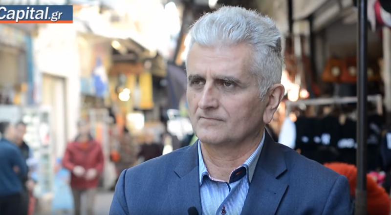 Ο Β΄ Αντιπρόεδρος του Ε.Ε.Α. κ. Νίκος Κογιουμτσής, στην κάμερα του Capital για τις συνέπειες του κορονοϊού στην αγορά