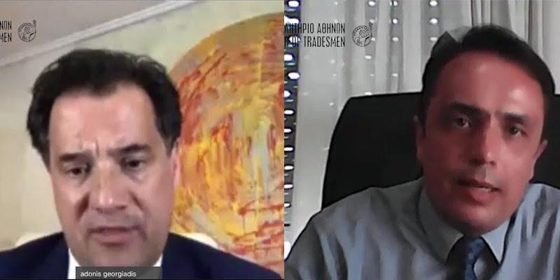 Παρέμβαση του Α' Αντιπροέδρου του Ε.Ε.Α. Ν. Γρέντζελου για τους εκπαιδευτές οδηγών στην τηλεδιάσκεψη με τον Άδωνι Γεωργιάδη