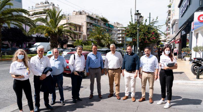 Διανομή υγειονομικού υλικού από το Επαγγελματικό Επιμελητήριο Αθηνών στον Δήμο Καλλιθέας