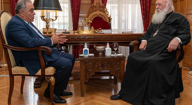 Το Ε.Ε.Α. ενίσχυσε την Αρχιεπισκοπή Αθηνών με υγειονομικό υλικό