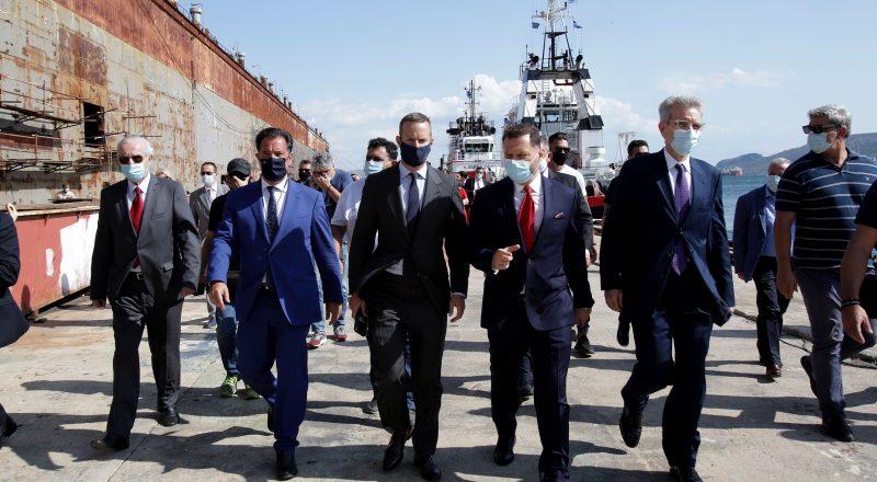 Οι επενδύσεις στο επίκεντρο της συνάντησης Αδ. Γεωργιάδη και Ν. Παπαθανάση με κρατικούς αξιωματούχους των ΗΠΑ -Επίσκεψη στα Ναυπηγεία Ελευσίνας