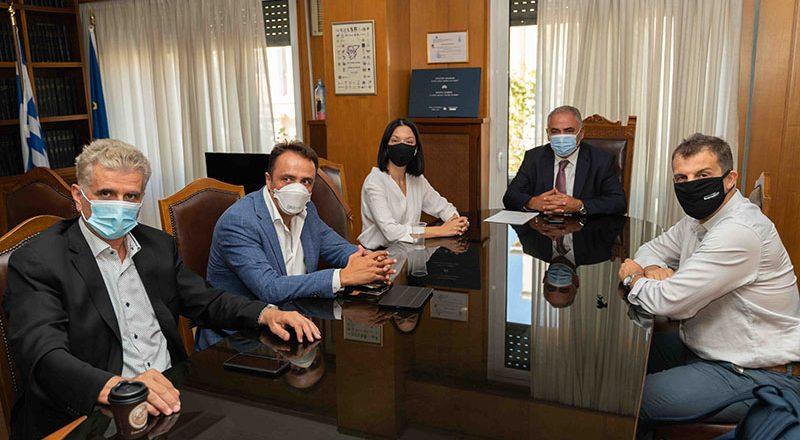 Συνάντηση της Διοίκησης του Ε.Ε.Α. με τη βουλευτή του ΚΙΝΑΛ κ. Νάντια Γιαννακοπούλου