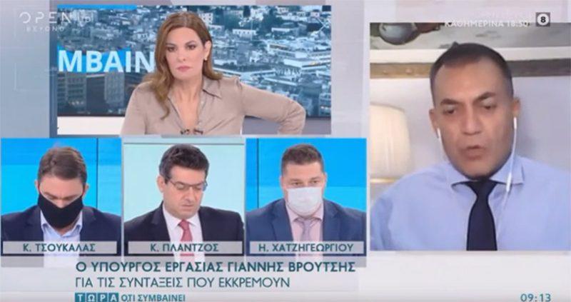 Ερωτήσεις του Η. Χατζηγεωργίου στον Υπουργό Εργασίας κ. Ι. Βρούτση για την τηλεργασία