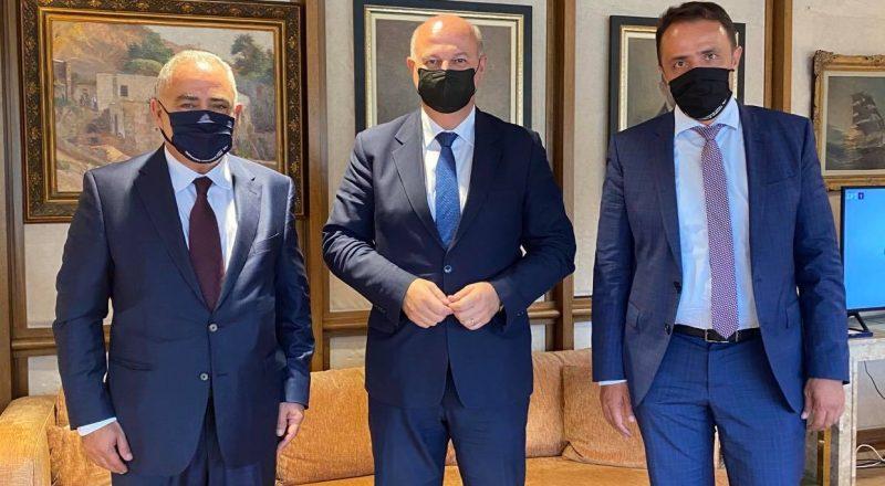 Συνάντηση του Προέδρου του Ε.Ε.Α. με τον Υπουργό Δικαιοσύνης με θέματα την στήριξη της επιχειρηματικότητας και την παροχή βοήθειας στους πληγέντες της Καρδίτσας