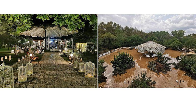 Το τεράστιο μέγεθος της καταστροφής στην Καρδίτσα – Φωτογραφίες από το πριν και το μετά