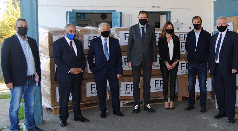 Σημαντική παροχή βοήθειας προς τους πληγέντες της Καρδίτσας – Δεύτερη επίσκεψη του Προέδρου του Ε.Ε.Α. στην περιοχή