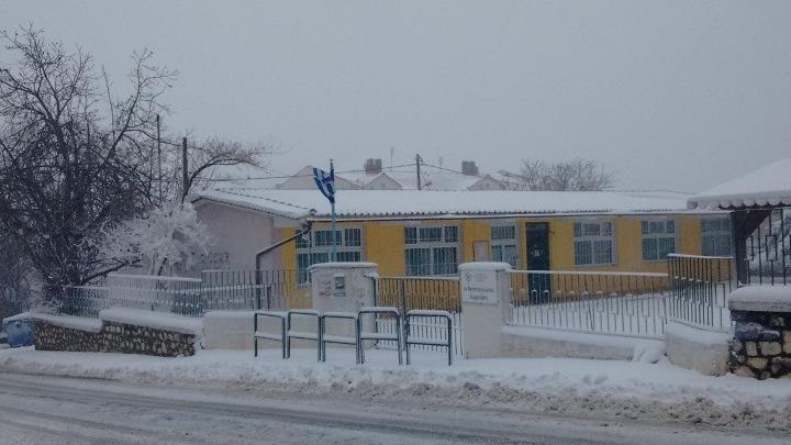 Ποια σχολεία είναι κλειστά λόγω παγετού – Με τηλεκπαίδευση συνεχίζονται τα μαθήματα