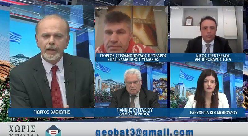Ν. Γρέντζελος στο ΑΡΤ TV: Να ανοίξουν άμεσα οι σχολές οδηγών