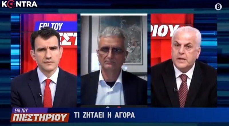 Ν. Κογιουμτσής στο Kontra: Υποτονική έως ανύπαρκτη η κατανάλωση στο κέντρο της Αθήνας, με εξαίρεση το Σάββατο