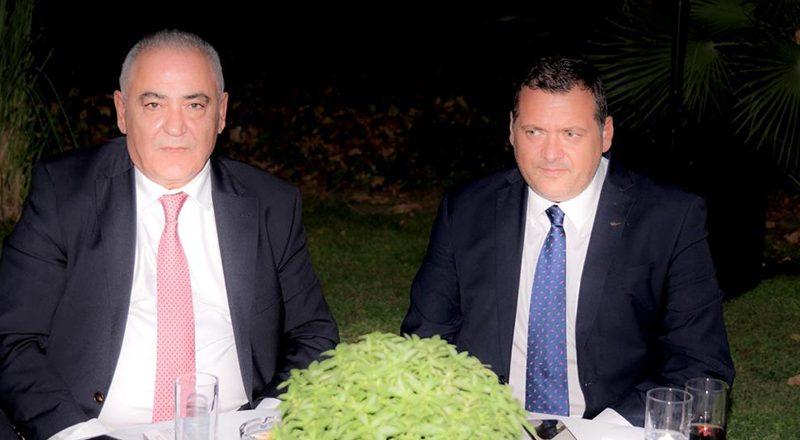 Συνάντηση Προέδρου Ε.Ε.Α. με τον Πρέσβη της Κυπριακής Δημοκρατίας κ. Κυριάκο Α. Κενεβέζο, στο πλαίσιο της γιορτής της Δημοκρατίας