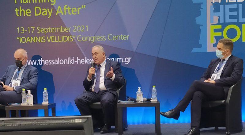 Ο Πρόεδρος της ΚΕΕΕ στο Thessaloniki Helexpo Forum για «Το παρόν και το μέλλον της οικονομίας»