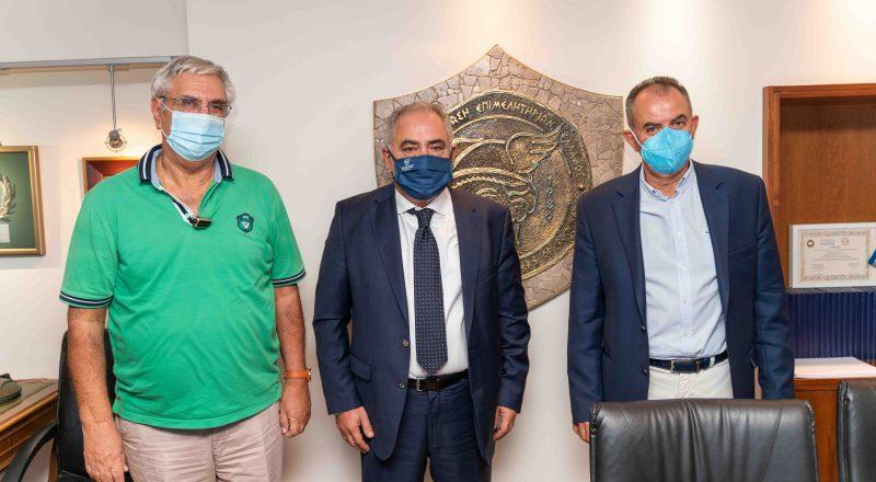 Με αντιπροσωπεία της ΓΕΝΟΠ/ΔΕΗ συναντήθηκε ο Πρόεδρος της ΚΕΕΕ