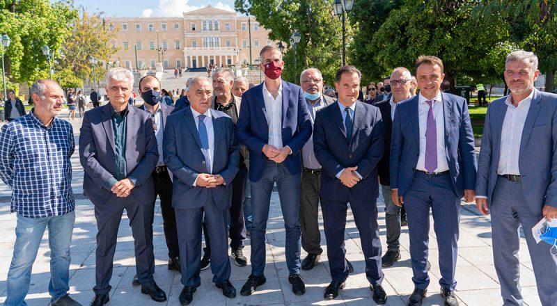 To Agora Athens μπορεί να τονώσει την επιχειρηματικότητα και τον τουρισμό – Μεγάλη εκδήλωση του ΕΕΑ στο Σύνταγμα, παρουσία των Α. Γεωργιάδη και Κ. Μπακογιάννη