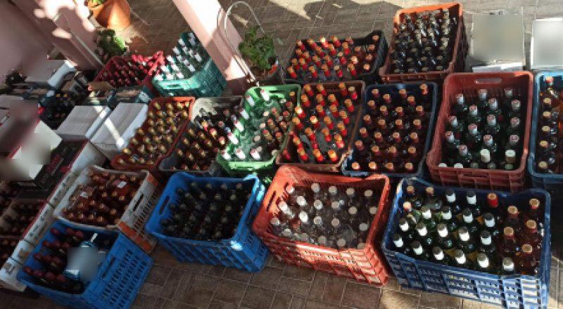 Εξαρθρώθηκε εγκληματική ομάδα που διακινούσε λαθραία αλκοολούχα ποτά